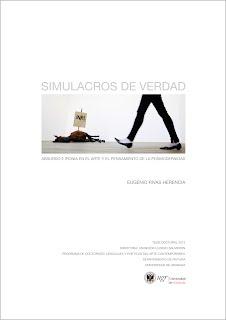 Simulacros de verdad_Eugenio Rivas