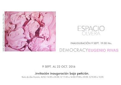 Eugenio Rivas, Democracy, Espacio Olvera