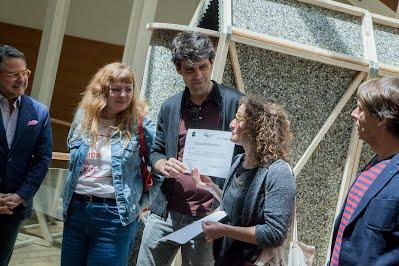 Entrega del premio Cajasol_Foro ACA18_AVAND