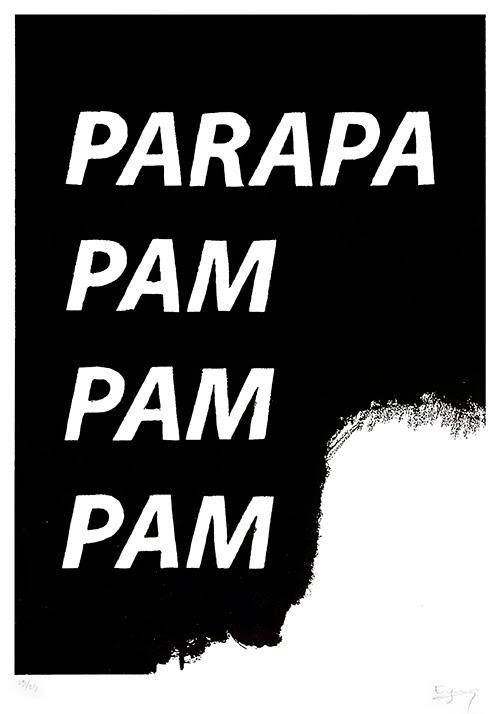 Eugenio Rivas_Parapapampampam. Serigrafía