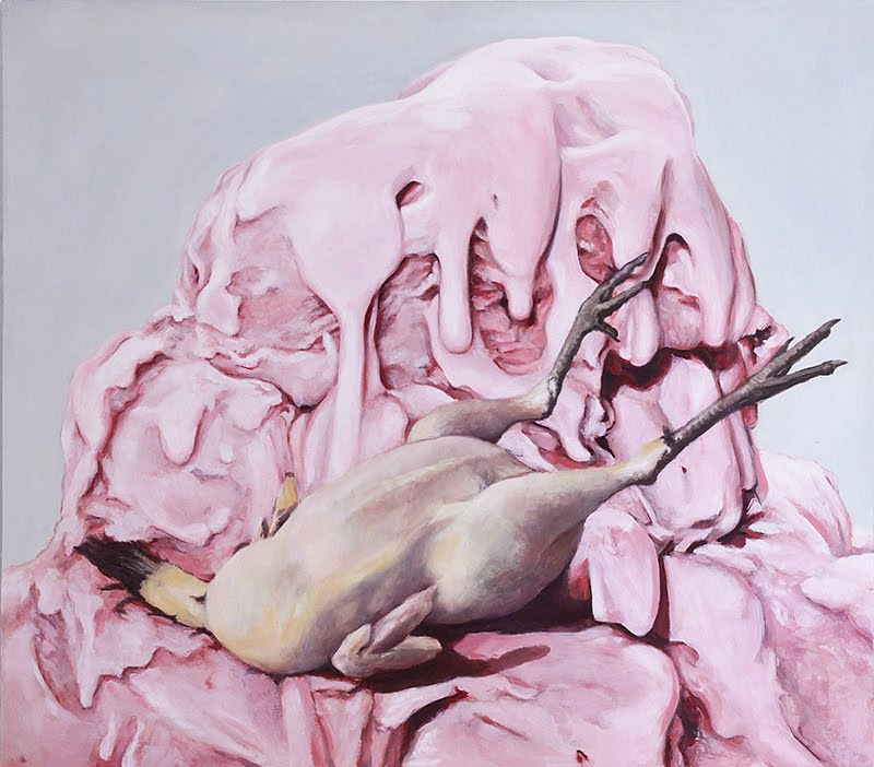 Eugenio Rivas_Maybe Late For Salvation_Ice Cream_Chicken